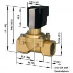 Соленоидный клапан 2/2-ходовой Busch Jost 8254300.9151.02400