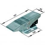Ручной и механически упр. клапан Norgren X3048202 тип Pedal/пружина, соед. G1/8