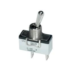 Тумблер APEM 250 B/AC 6 A 6-641H/2 2 x Вкл/Выкл фиксированно/фиксированно