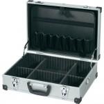 Универсальный чемодан для инструментов Toolcraft, (Д х Ш х В) 425 х 305 х 135 мм, алюминий